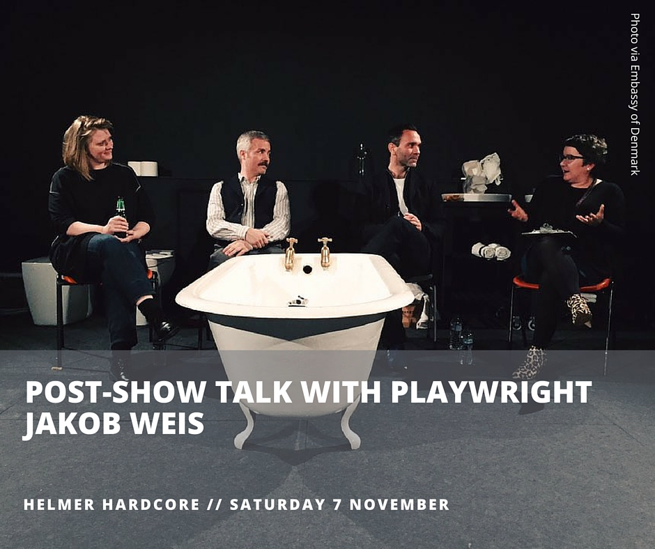 Post-show talk for Helmer Hardcore